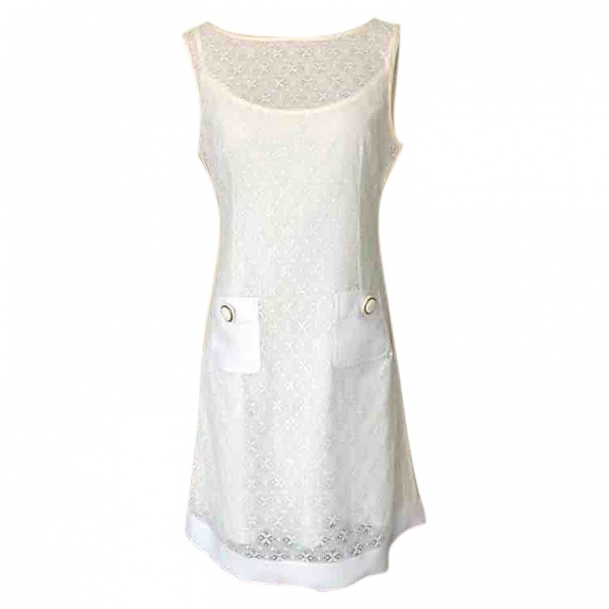 D&g \N White Cotton dress for Women 40 IT