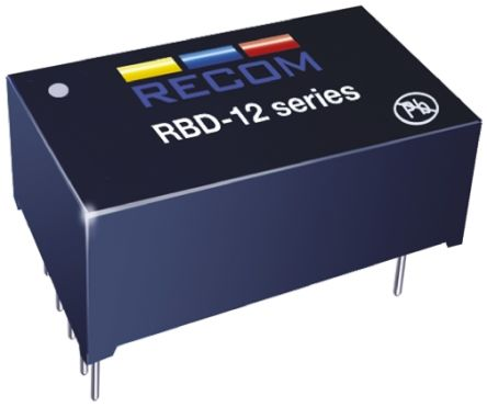 Recom RBD-12-0.35 LED Driver IC, 8  36 V dc 7-Pin DIP
