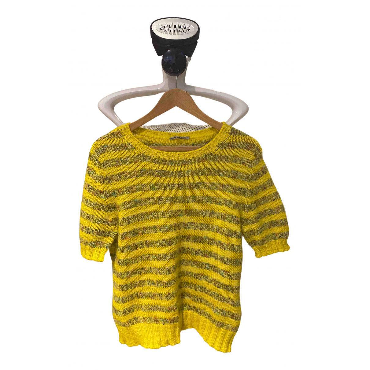 Ermanno Scervino \N Yellow Wool  top for Women 44 FR