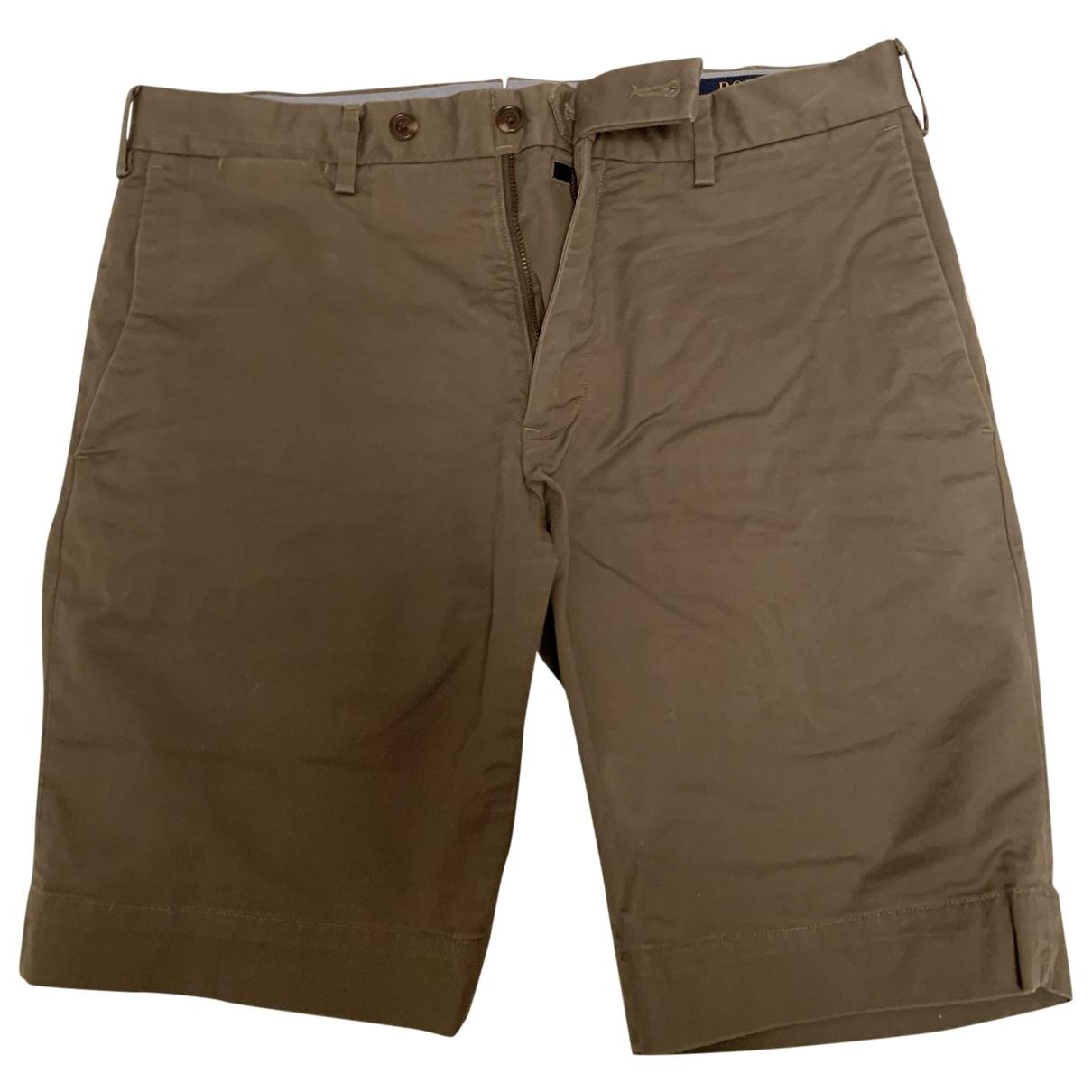 Polo Ralph Lauren \N Khaki Cotton Shorts for Men 30 UK - US