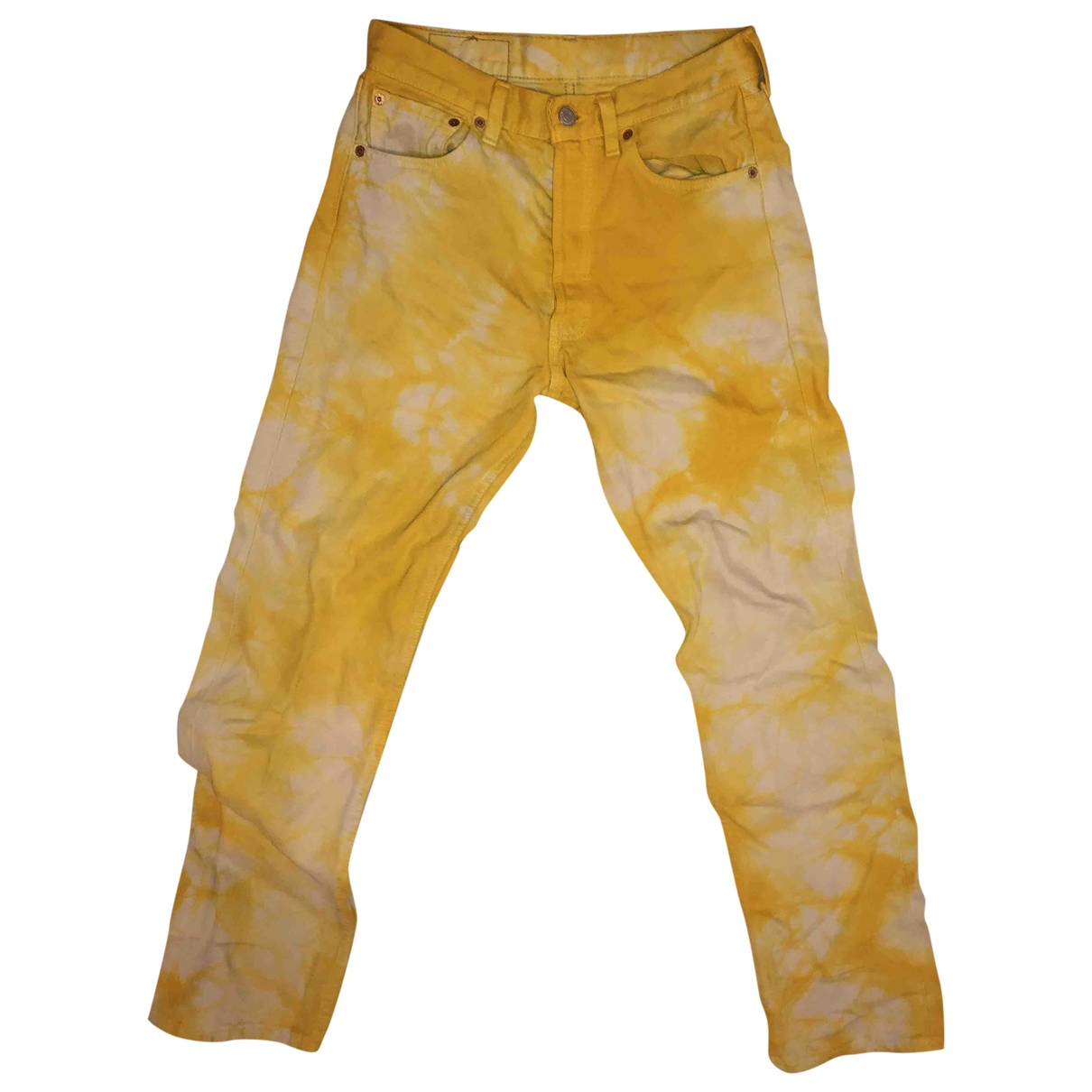 Levi's Vintage Clothing \N Yellow Denim - Jeans Jeans for Women 34 FR