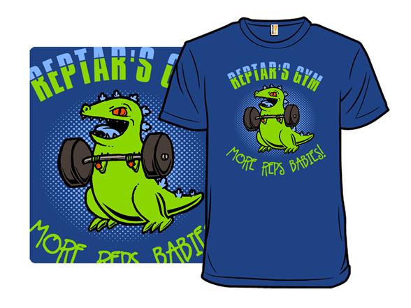 Reptar's Gym T Shirt