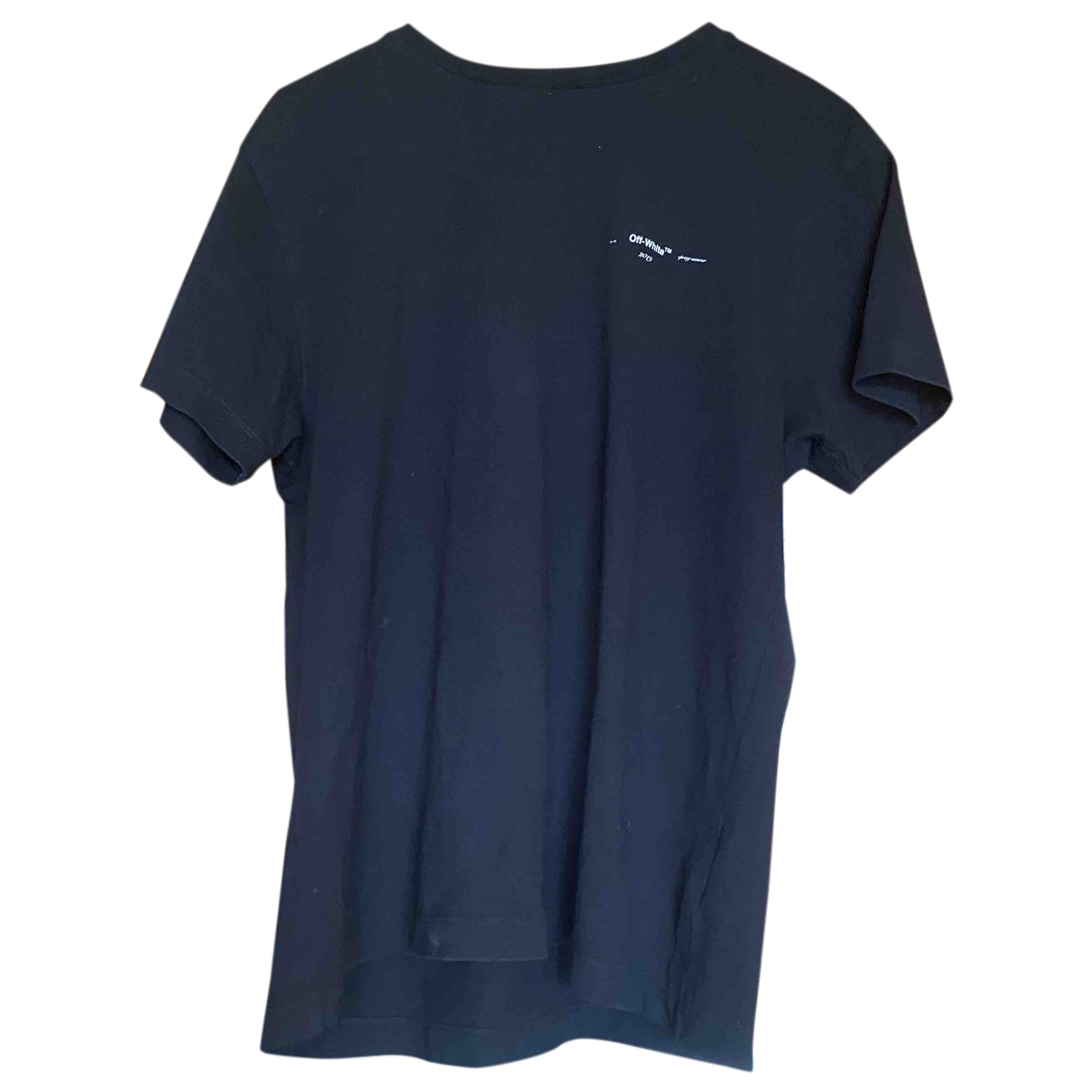 Off-white \N Black Cotton T-shirts for Men XS International