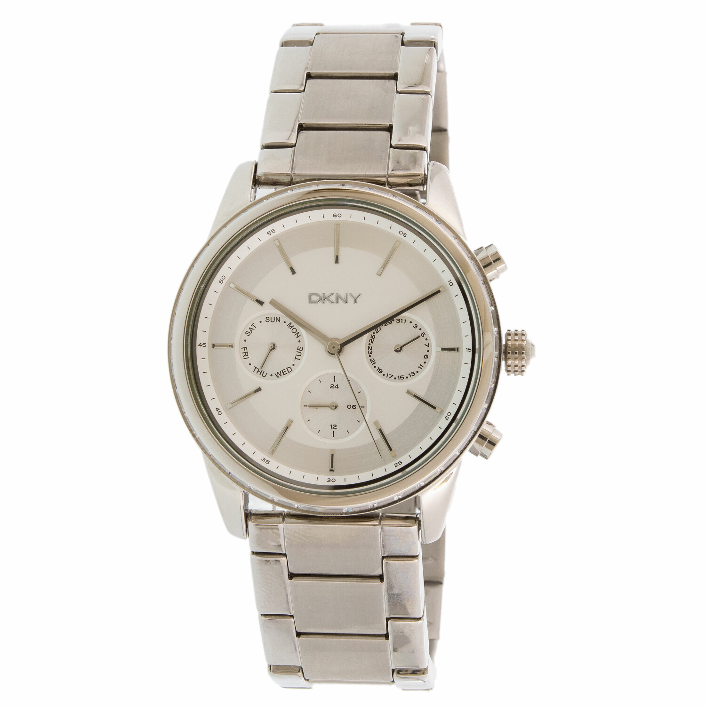 Dkny Women's Rockaway NY2364 Silver Stainless-Steel Quartz Fashion Watch