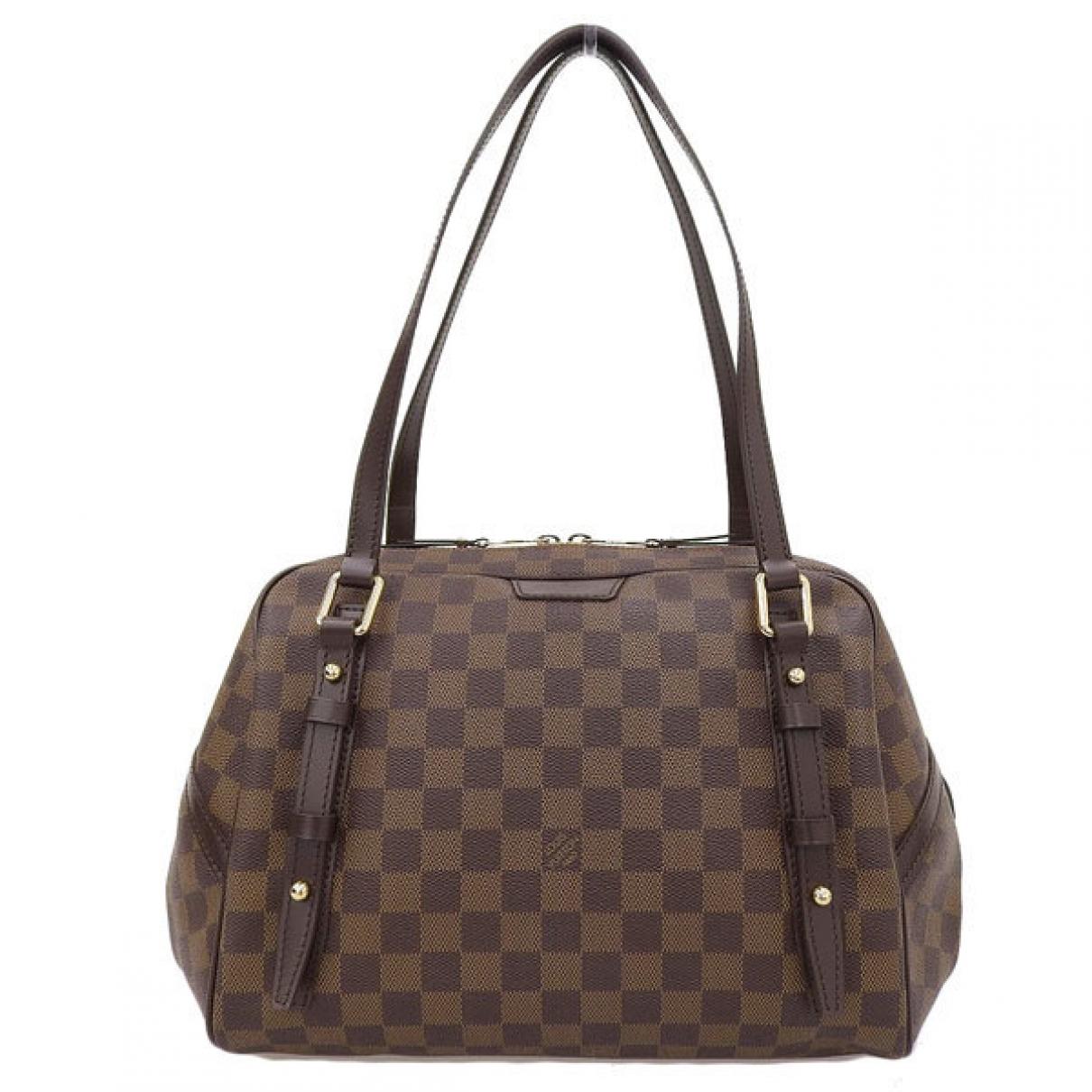 Louis Vuitton Rivington Brown Cloth handbag for Women \N