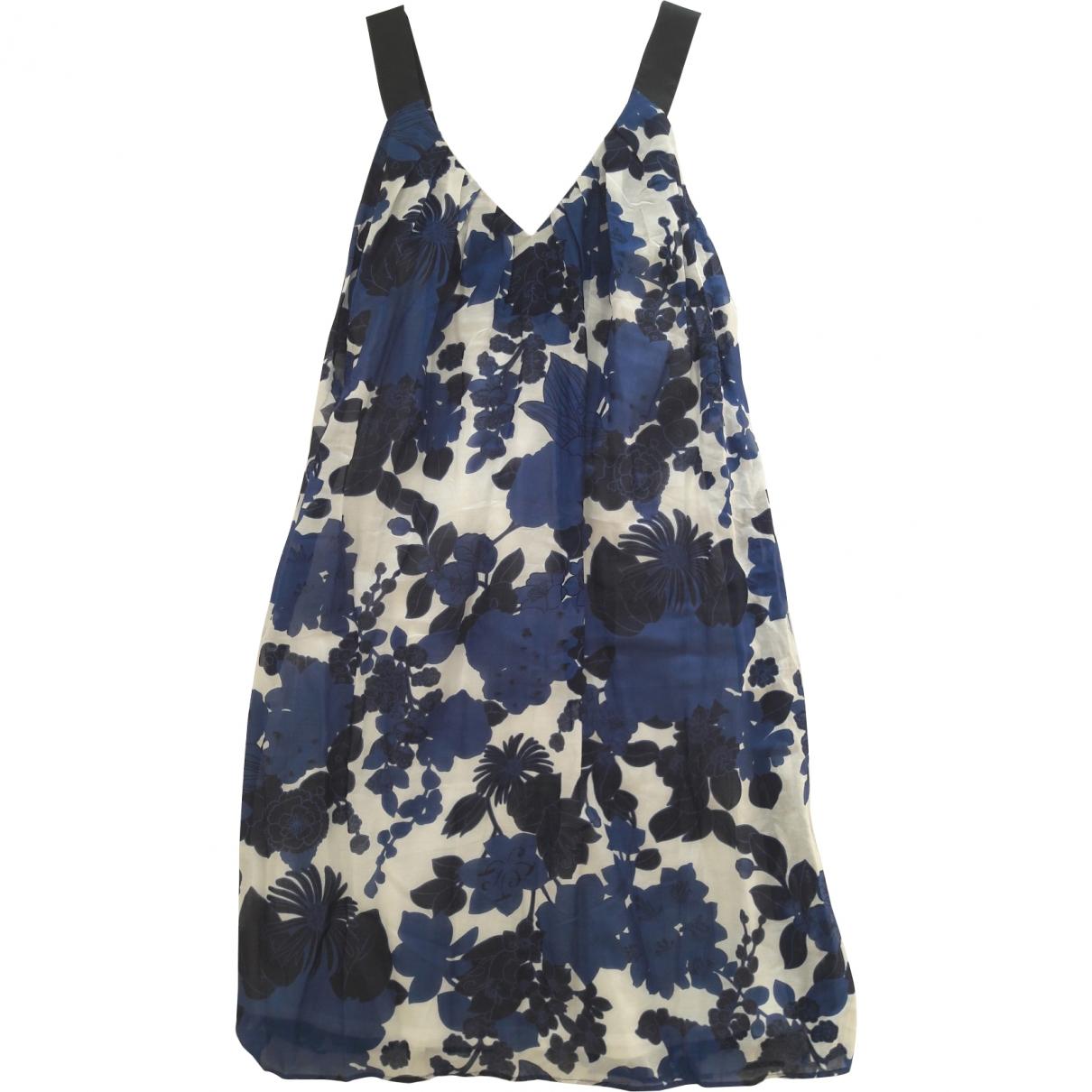 Tara Jarmon \N Multicolour Cotton dress for Women 38 FR