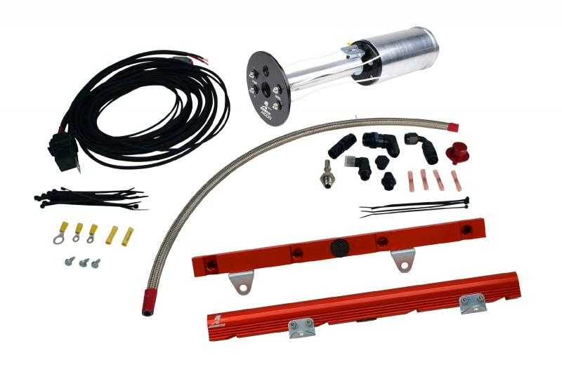 Aeromotive 17172 Fuel System System, C6 Corvette, 18670 A1000, 14106 LS-1 Rails, 16307 Wire Kit and; Fittings