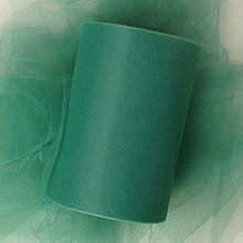 Polyester Hunter Polyethyleneester Tulle - 6 X 100 Yards - Fabric by Paper Mart