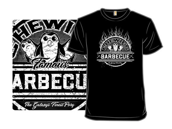 Chewie's Famous Bbq T Shirt