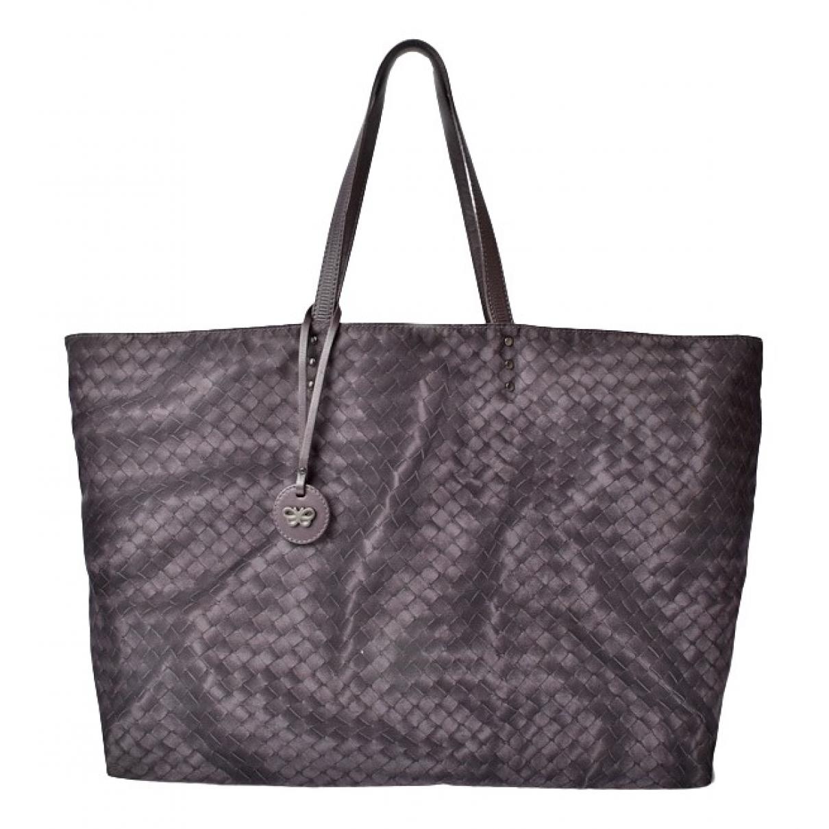 Bottega Veneta \N Purple Leather handbag for Women \N