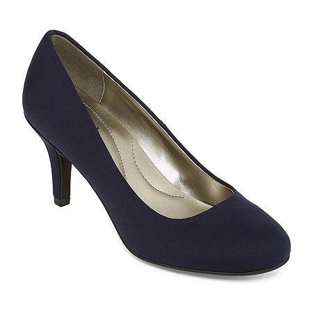east 5th Womens Carolyn Pumps Stiletto Heel, 7 1/2 Medium, Blue