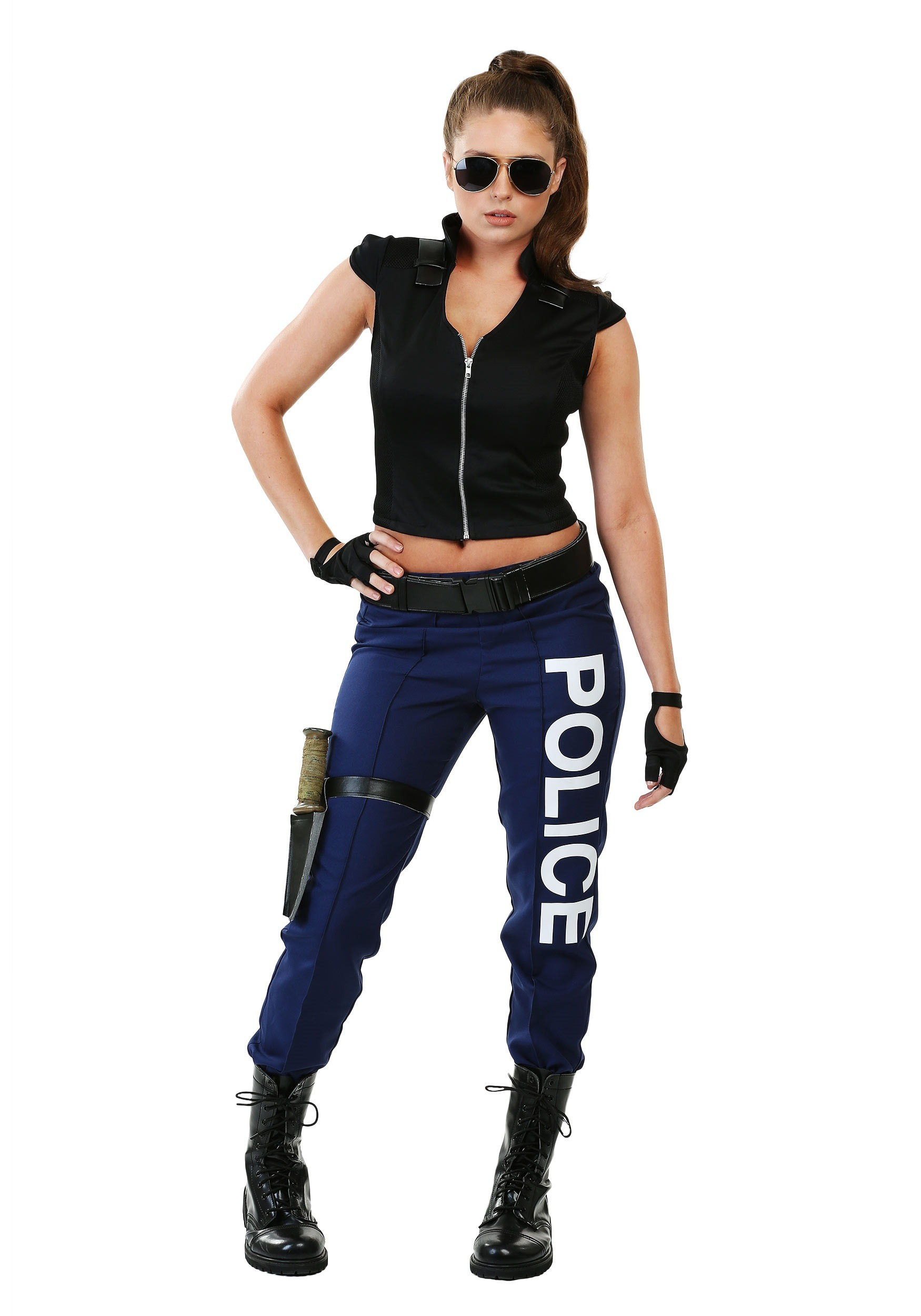 Tactical Police Costume for Women