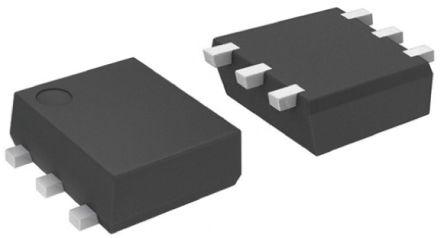 ON Semiconductor Dual N-Channel MOSFET, 280 mA, 20 V, 6-Pin SOT-963  NTUD3170NZT5G (25)