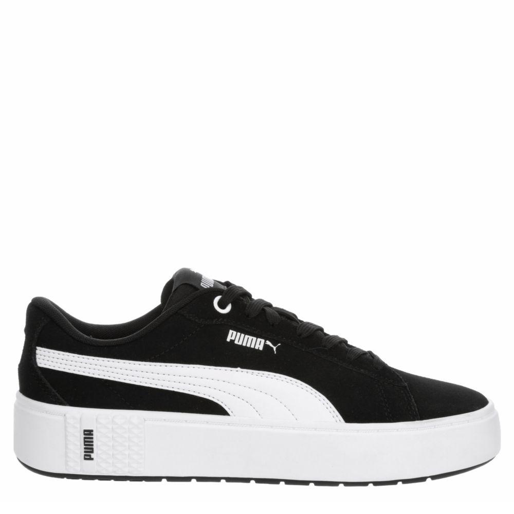 Puma Womens Smash Platform Shoes Sneakers