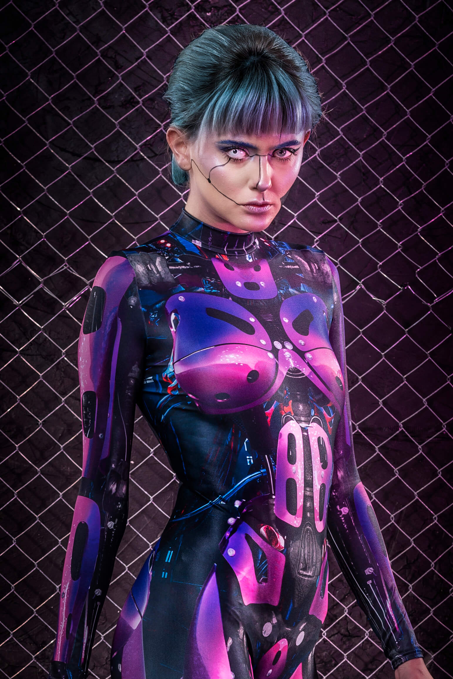 Halloween Costumes 2019 Women's - Cyberpunk Cosplay Robot Costume Adults