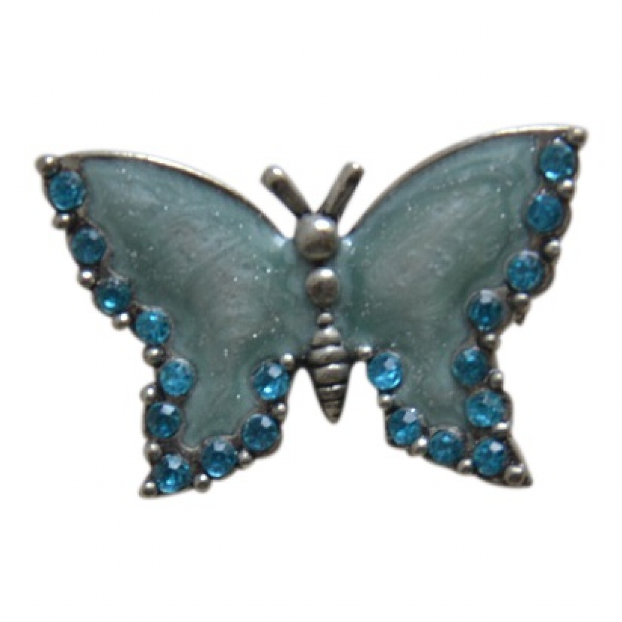 Non Signé / Unsigned Motifs Animaliers Turquoise Metal Pins & brooches for Women \N