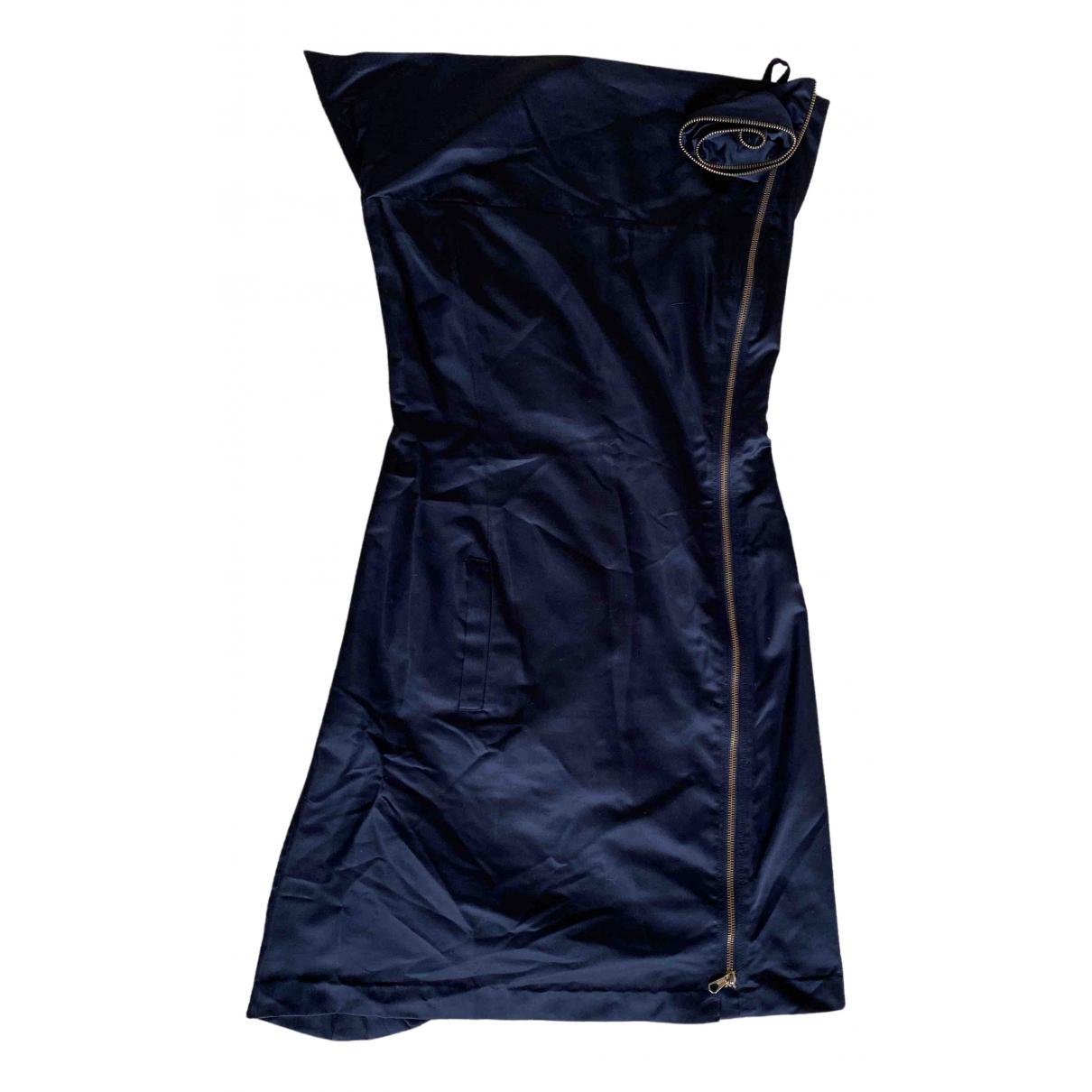 Sonia Rykiel \N Black Silk dress for Women 40 FR
