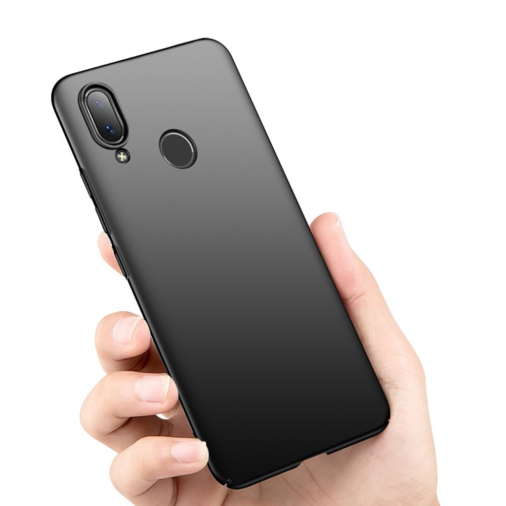 Phone Case for Xiaomi Redmi Note 7 Protective Phone Shell Back Cover - Black