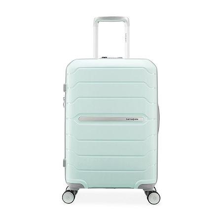 Samsonite Freeform 21 Inch Carry-on Hardside Luggage, One Size , Blue