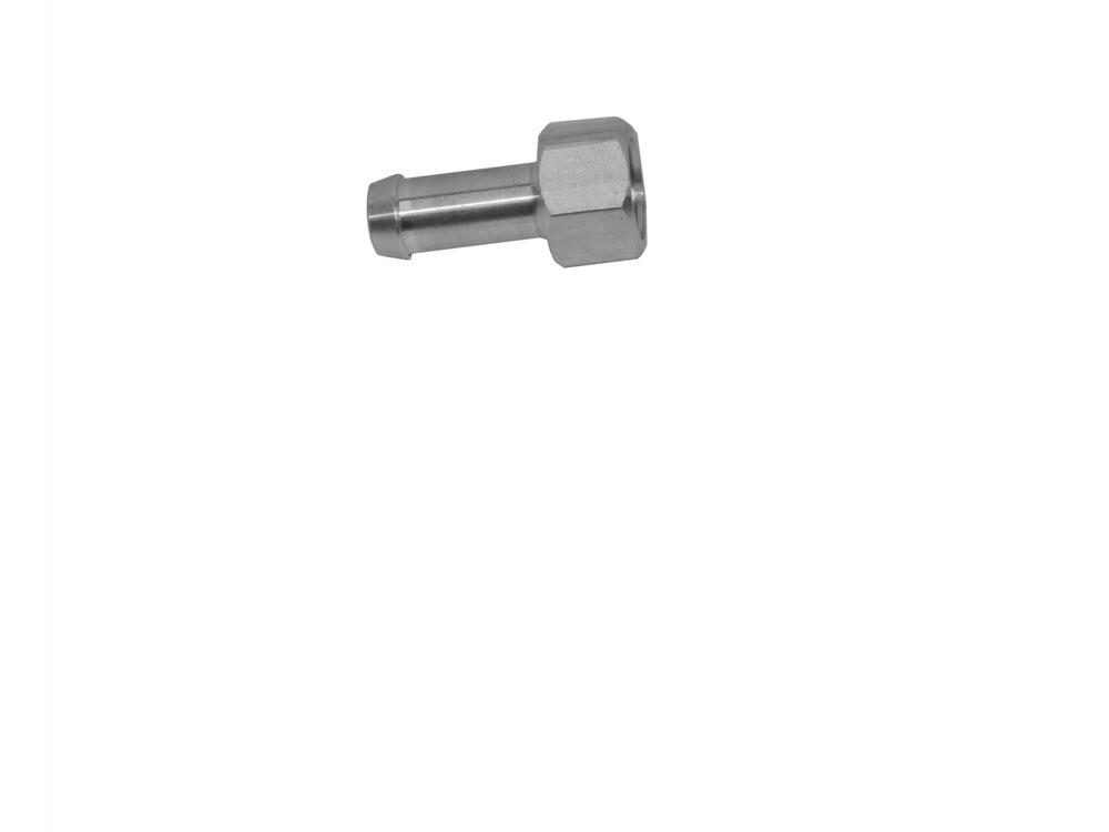 Adptr 1/2-20 Male 3/8 in Barb Aluminum