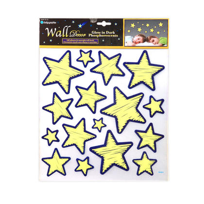 Wall Decal Glow in The Dark Star Stickers Home - iDesign