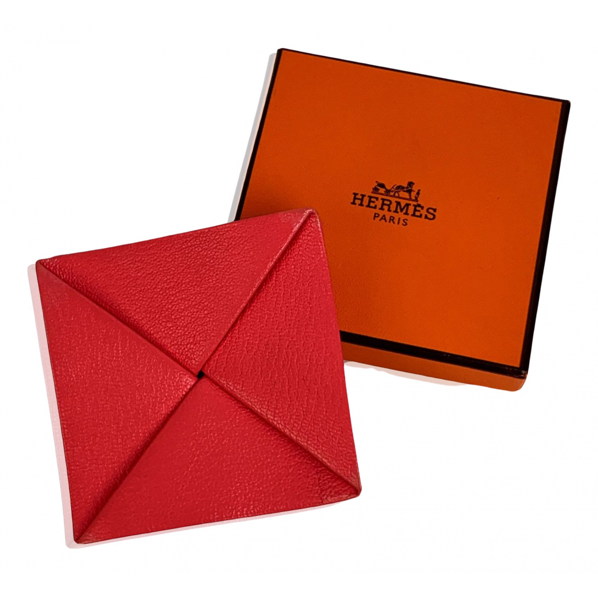Hermès Zoulou Pink Leather Purses, wallet & cases for Women \N