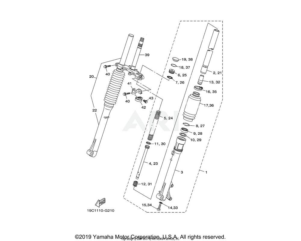 Yamaha OEM 1L9-23114-00-00 GASKET