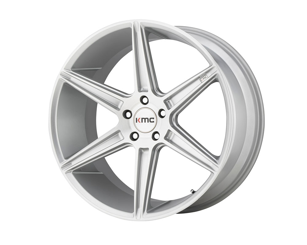 KMC KM711 Prism Wheel 22x9 5x5x120 +35mm Brushed Silver