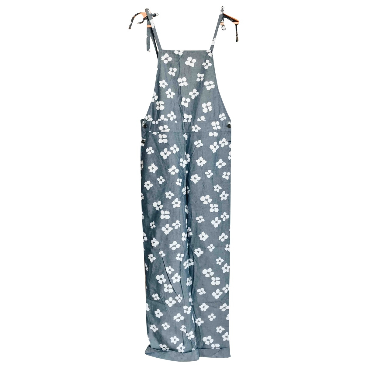 Non Signé / Unsigned \N Blue Trousers for Women S International