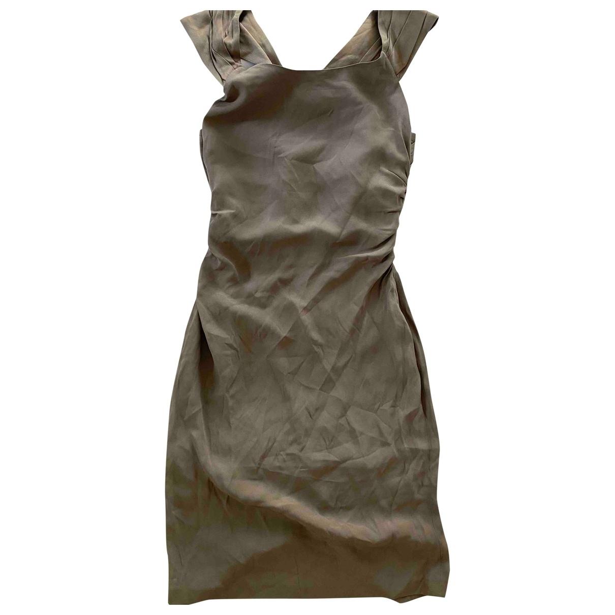 Tara Jarmon \N Camel dress for Women 38 FR