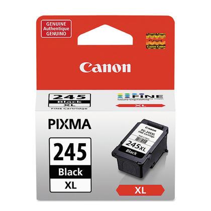 Canon PG245XL Original Black Ink Cartridge, High Yield