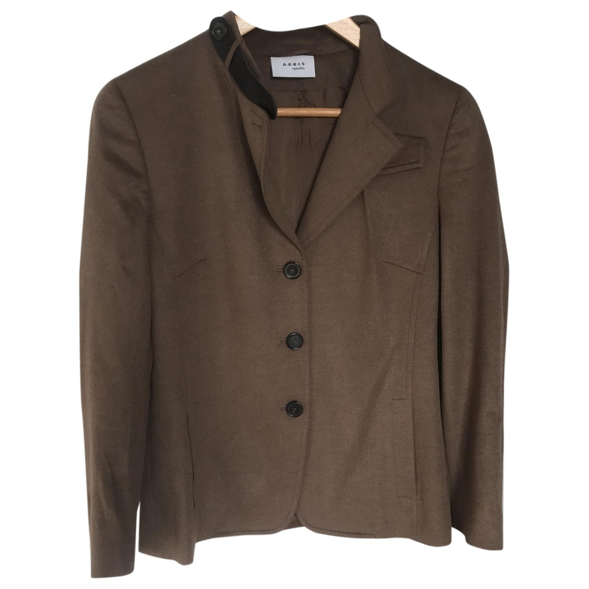 Akris Punto \N Camel Wool jacket for Women 38 FR