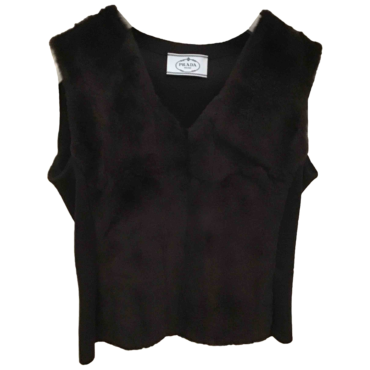 Prada \N Brown Fur  top for Women 40 IT