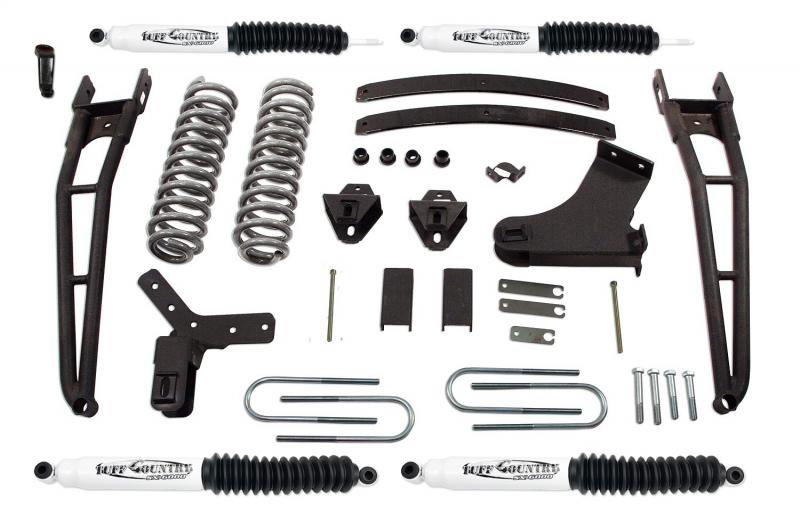 Tuff Country 24864KH Complete Kit (w/SX6000 Shocks)-4in. Ford Explorer 1991-1994 4.0L V6