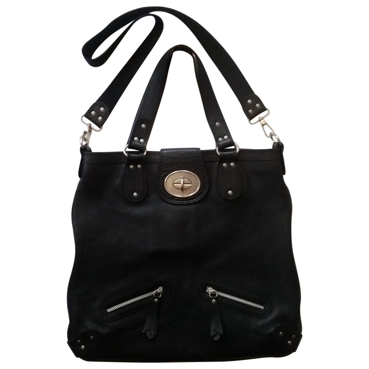 Kenzo Kalifornia Black Leather handbag for Women \N