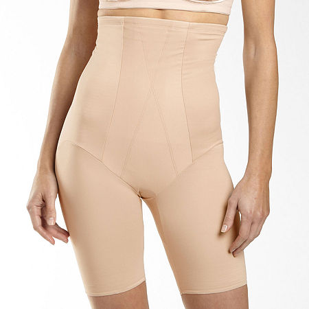 Underscore Innovative Edge High-Waist Extra Firm Control Thigh Slimmers - 129-3604, Xx-large , Beige