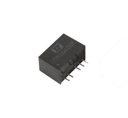 XP Power ITP 3W Isolated DC-DC Converter Through Hole, Voltage in 9 → 36 V dc, Voltage out 5V dc