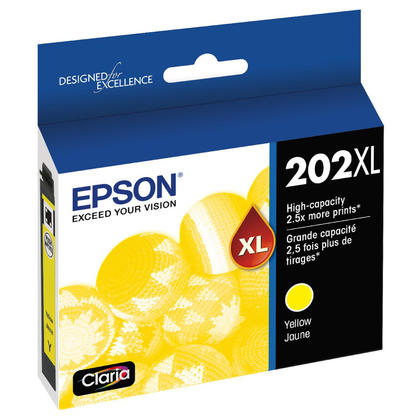 Epson 202XL T202XL420-S Original Yellow Ink Cartridge High Yield