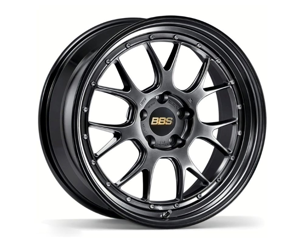BBS LM-R Wheel 20x11 5x120 40mm Diamond Black w/ Diamond Black Lip