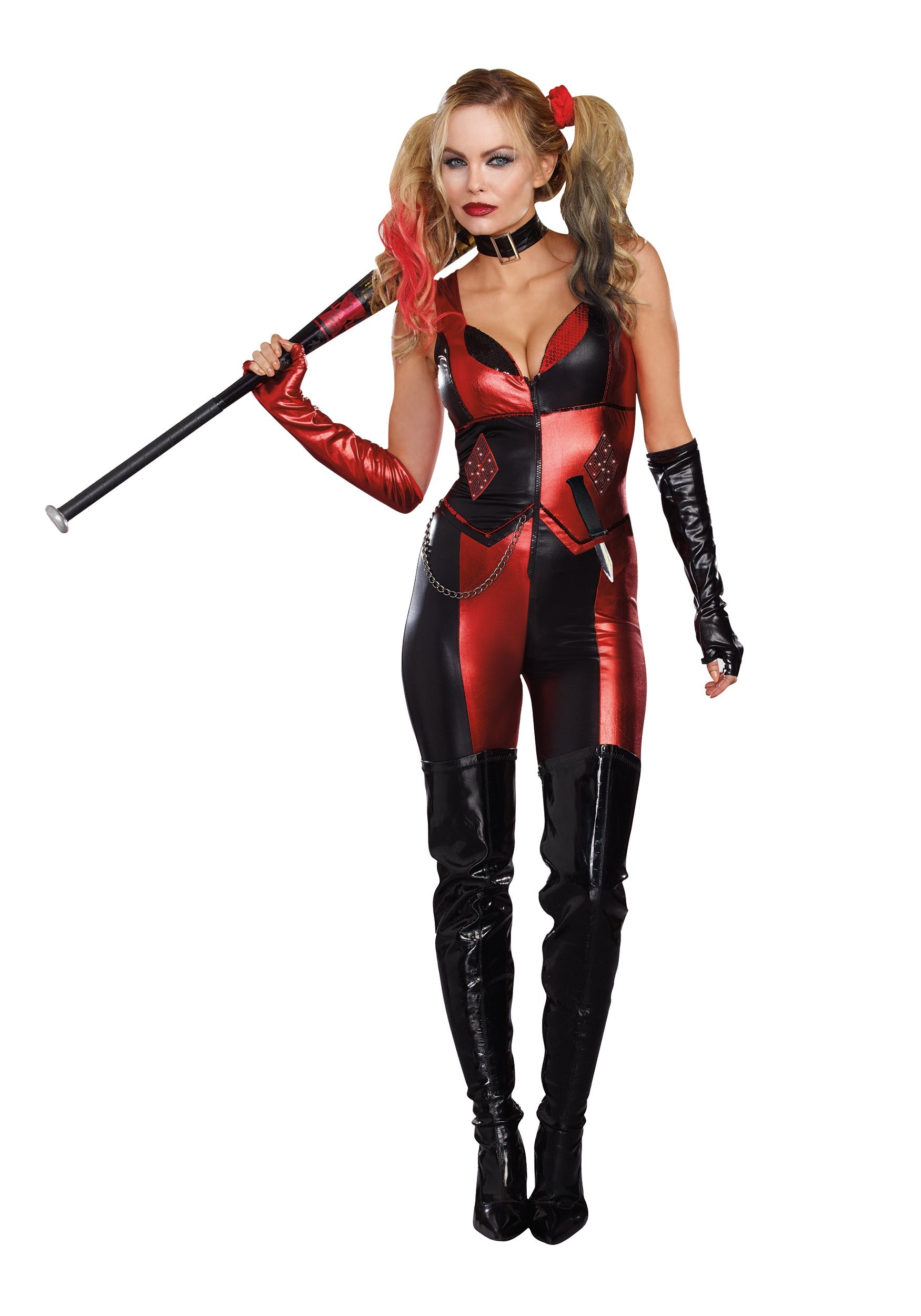 Harlequin Blaster Costume For Adults