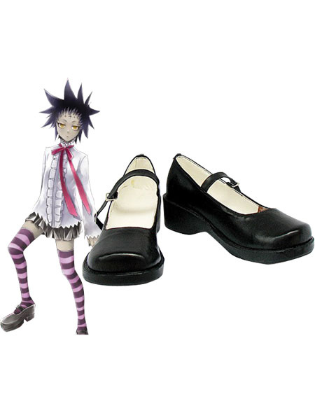 Milanoo D.Gray Man Road Kamelot Imitated Leather Rubber Cosplay Shoes Halloween