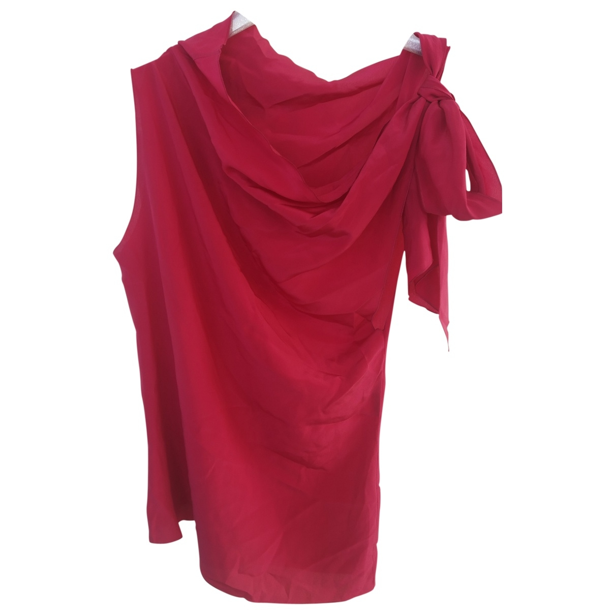 Gucci \N Red Silk  top for Women 40 IT