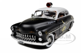 1949 Mercury Coupe Rat Rod Police 20th Anniversary of American Muscle Edition Limited Edition 1 of 700 Produced Worldwide 1/18 Diecast Model Car by A