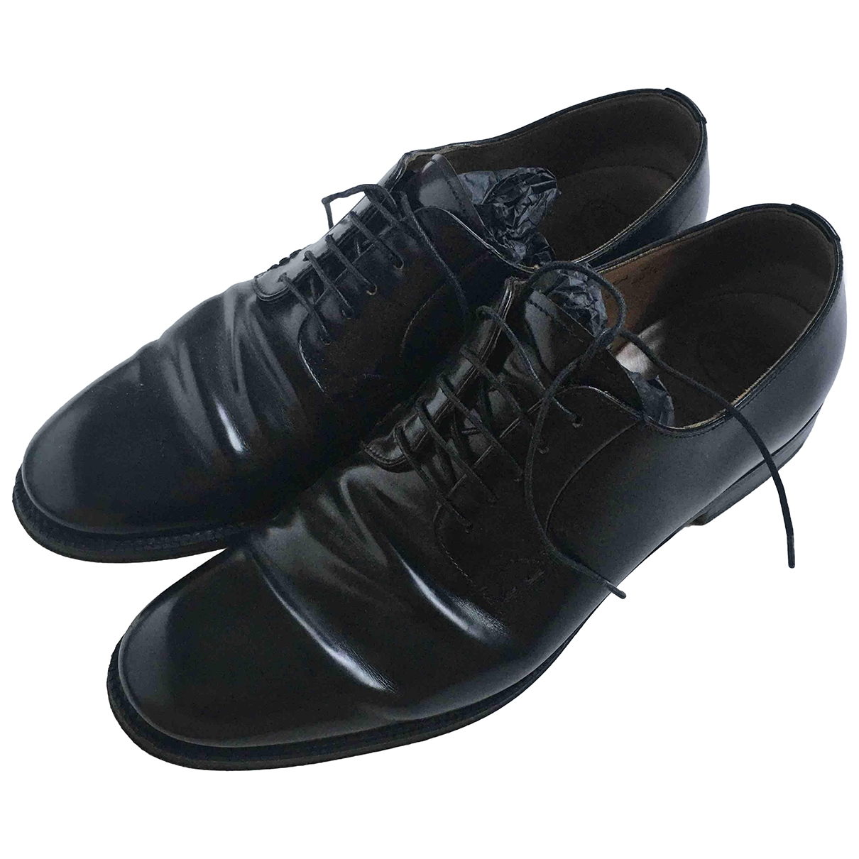 Church's \N Black Patent leather Lace ups for Women 40.5 EU