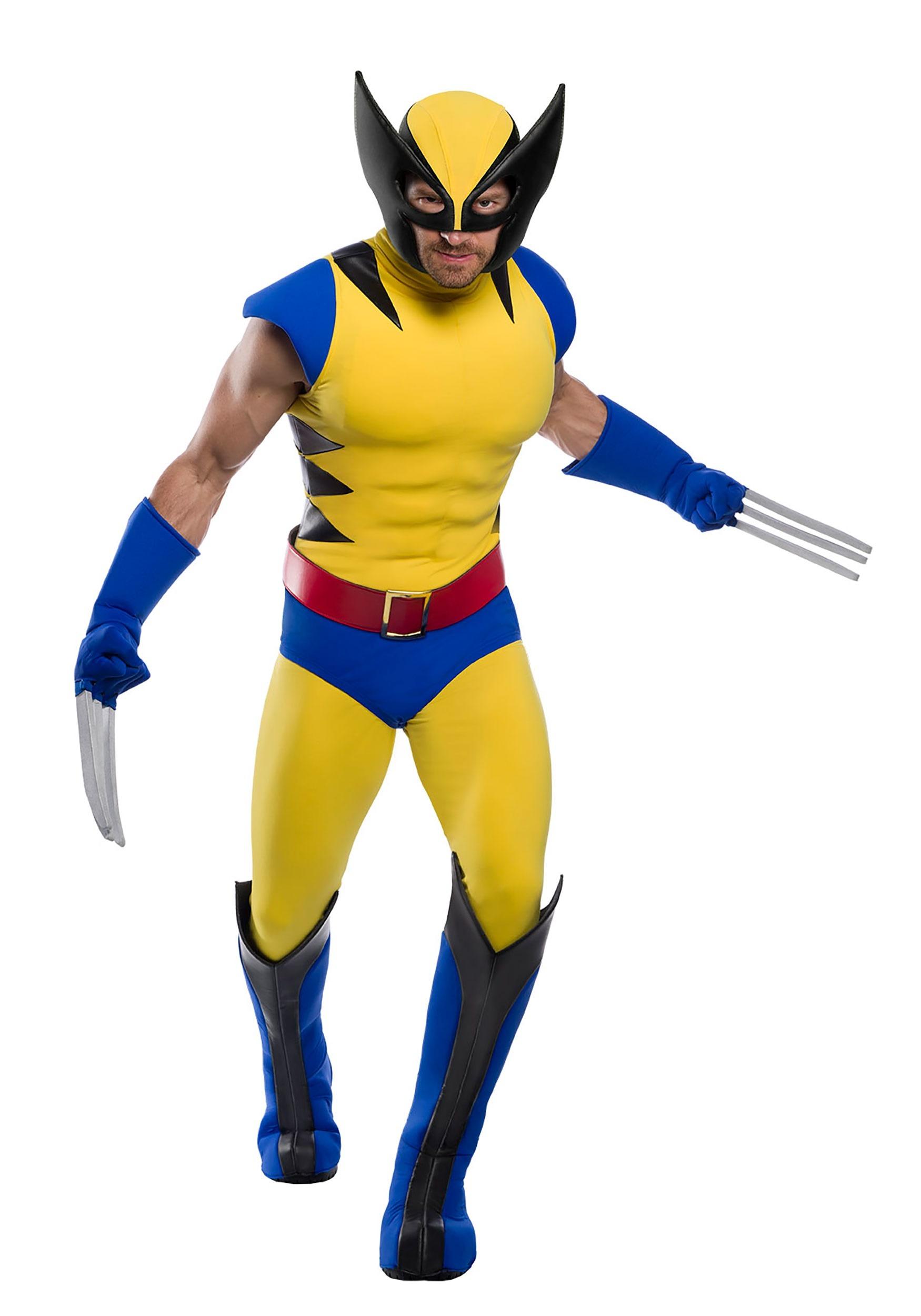 Premium Marvel Adult Wolverine Costume   Wolverine Marvel Costume