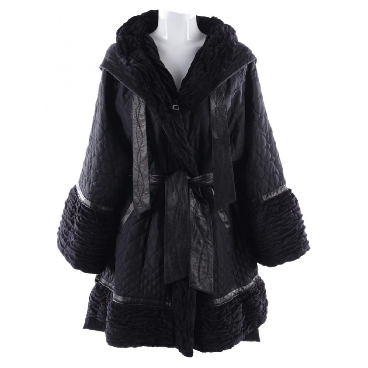 Autre Marque \N Black Cotton jacket for Women 34 FR