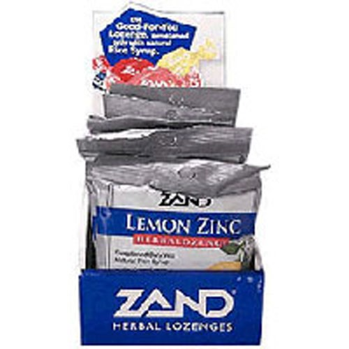Herbalozenge Lemon-Zinc 15 LOz by Zand