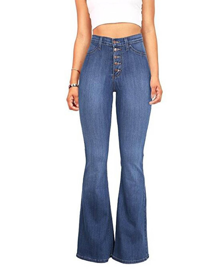 Ericdress Denim Washable Women's Jeans