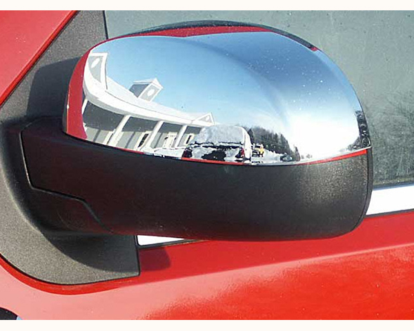 Quality Automotive Accessories Chrome Plated ABS Plastic 2-Piece Mirror Cover Set | Top GMC Yukon | XL 2011