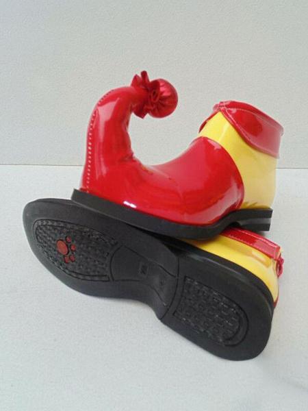 Milanoo Circus Clown Shoes Jumbo Colorful Shoes